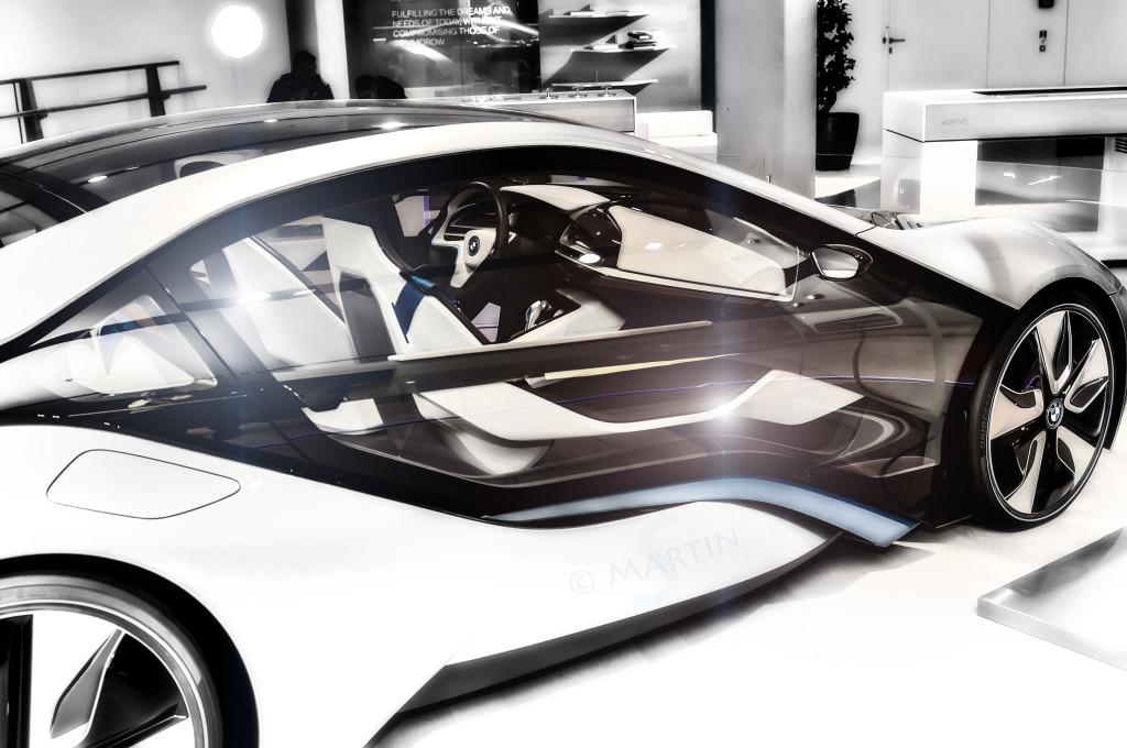 Konzeptcar in der BMW Welt München