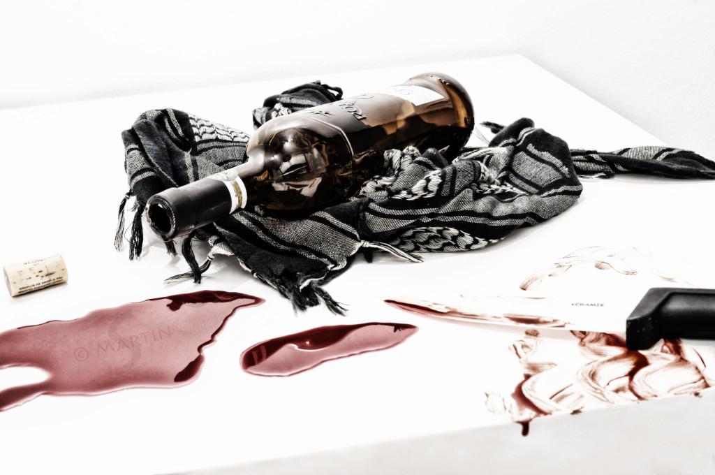 Wein und Blut