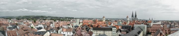 Panorama einer der schönsten Städte die ich kenne - Regensburg