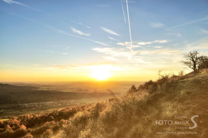 Sunset from the Staffelberg