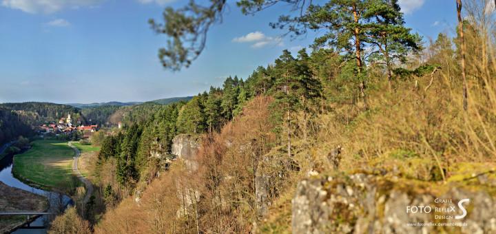 """Nankendorf aus Sicht des sog. """"Triumphbogens"""""""